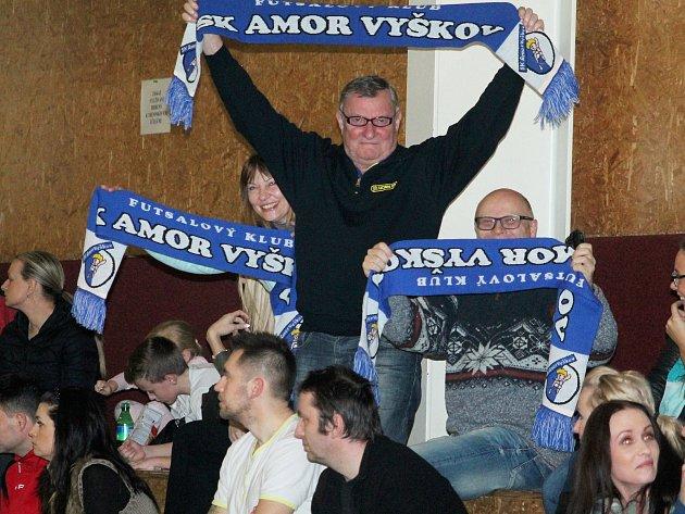 Petr Král, dlouholetý hlavní pořadatel při zápasech fotbalistů Vyškova.