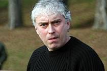 Trenér fotbalistů Rousínova Pavel Svoboda.