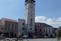 Masarykovo náměstí ve Vyškově. Ilustrační foto.