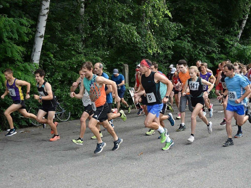 Čtrnáctý ročník Lulečské šestky vyhráli drnovičtí běžci Tomáš Steiner a Anežka Langhammerová.
