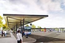 Takto bude vyškovské autobusové nádraží vypadat podle vizualizace.