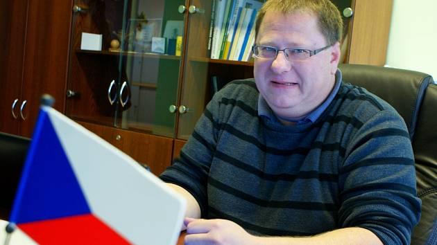 Bývalý starosta Křenovic Jaromír Konečný.