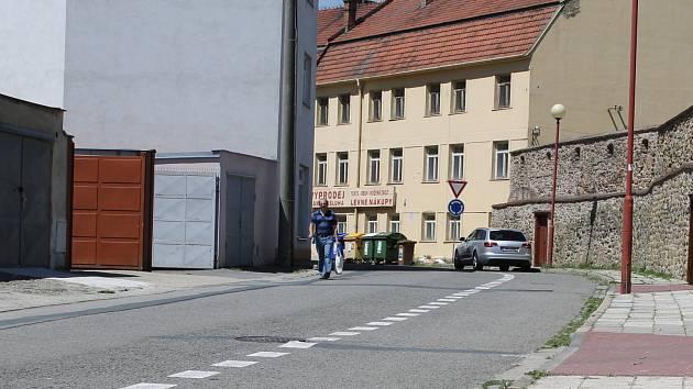 Pivovarská ulice ve Vyškově.
