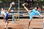 V utkání druhé ligy nohejbalistů porazil domáci R.U.M. Holubice družstvo Sokol Exmost Modřice B 6:1.