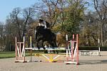 Hubertova jízda v v zámeckém parku ve Slavkově u Brna.