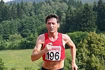 Běžec František Kolínek.