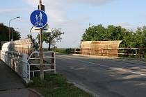 Most v Sochorově ulici ve Vyškově - ilustrační foto.