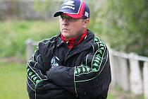 Trenér fotbalistů Tatran Rousínov Tomáš Kovanda