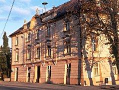 Budova staré radnice v Ivanovicích na Hané.