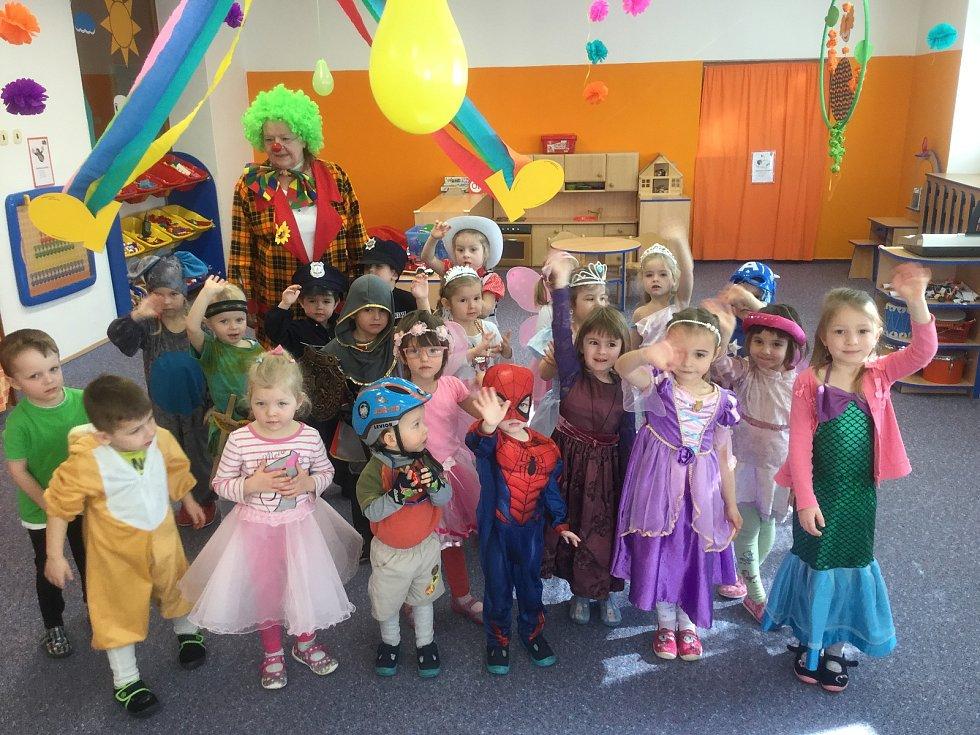 Děti z Mateřské školy Bučovice, pracoviště Na Padělcích.