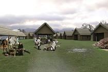 Středověká atrakce má lákat nejen rodiny s dětmi, ale i firemní setkání ve víceúčelovém sále.