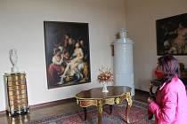 V oblíbeném prohlídkovém okruhu Historické sály uvidí návštěvníci ty největší sály zámku, ve kterých se měnily dějiny Evropy.