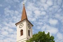 Kostel v Otnici na Vyškovsku.