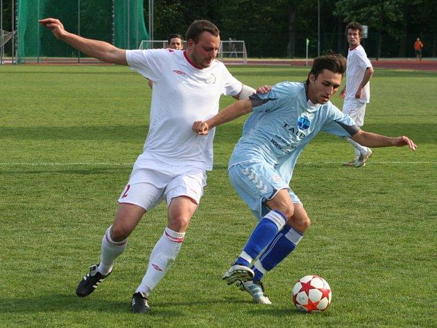 Fotbalisté vyškova skončili s Třebíčí remízou.