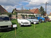 Součástí sobotních oslav v Křenovicích byla i módní přehlídka, ukázka dávných činností a výstava dobových předmětů.