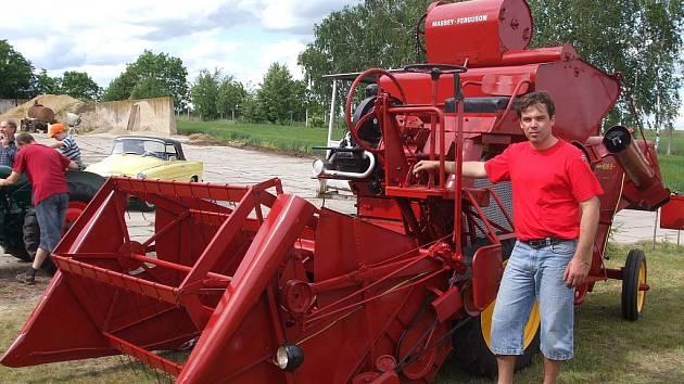 Exponáty muzea zemědělské techniky v Hošticích-Herolticích