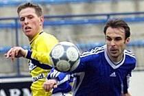 První domácí odchovanec v dresu prvoligového FC Petra Drnovice Roman Gibala.