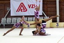 Jedenáctý ročník Trasko Cupu ve společných skladbách moderních gymnastek proběhl ve Vyškově.