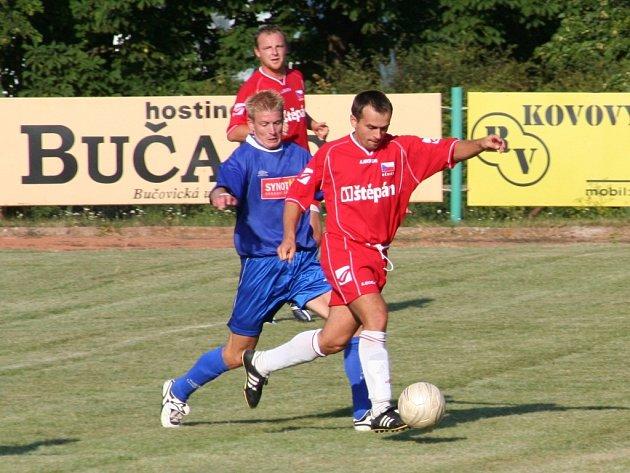 V loňském ročníku krajského poháru narazily Dědice na Slavkov a na jeho hřišti jej i díky této akci Lžičaře, která skončila gólem, přehrály. Letos jim los pro změnu přidělil Bučovice.
