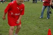 Na celostátní soutěži ve fotbalových dovednostech vyškovští zástupci rozhodně nepropadli.