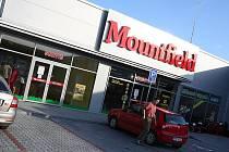 Mountfield ve Vyškově.