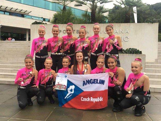 Mažoretky Angelin si z Chorvatska přivezly hned několik úspěchů.