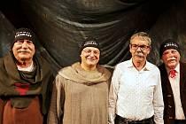 Divadlo Járy Cimrmana představilo ve Vyškově hru Blaník.