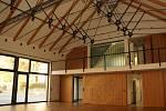 Nový kulturní dům bude sloužit pro organizaci slavností, divadelních představení a kulturních akcí obecně. Využijí ho nejen místní, ale i přespolní.