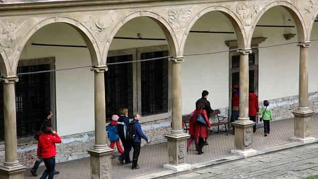 Bučovický renesanční zámek - ilustrační foto.