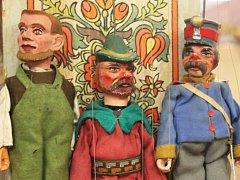 Historická divadla a loutky v Muzeu Vyškovska potěší nejen děti.