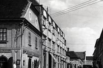 Pohled do Jiráskovy ulice v Bučovicích.