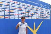 Dana Hyláková zakončila sezonu čtvrtým místem na mistrovství Evropy v Španělsku.