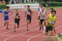 Mladí atleti AK AHA Vyškov na mistrovství České republiky na Kladně.