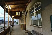 Aktuální podoba vlakového nádraží ve Vyškově.
