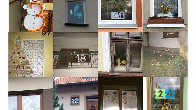 S neobvyklým nápadem Adventního kalendáře, který zve na vycházky obcí přišli v Pustiměři.