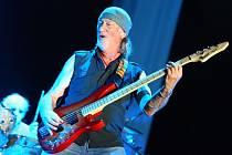 Legendární skupina Deep Purple zahrála ve slavkovské zámecké zahradě.