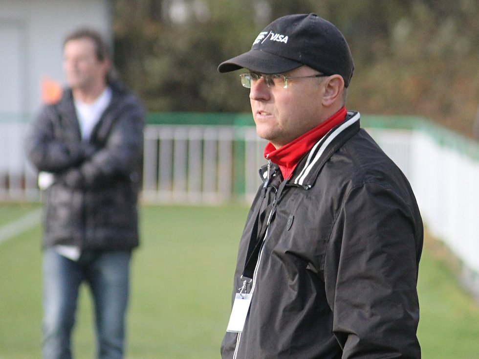 Trenér Tomáš Kovanda z Tatranu Rousínov