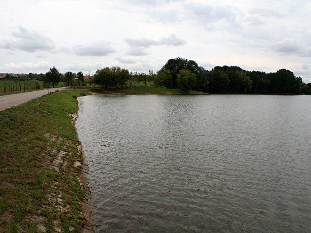 Vyškovský rybník Kačenec.