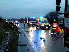 Pět zraněných lidí si vyžádala sobotní dopravní nehoda u Křižanovic.