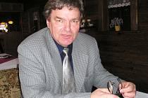 Staronový starosta Bošovic Jaroslav Šimandl.
