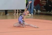 Moderní gymnastika - ilustrační fotografie.