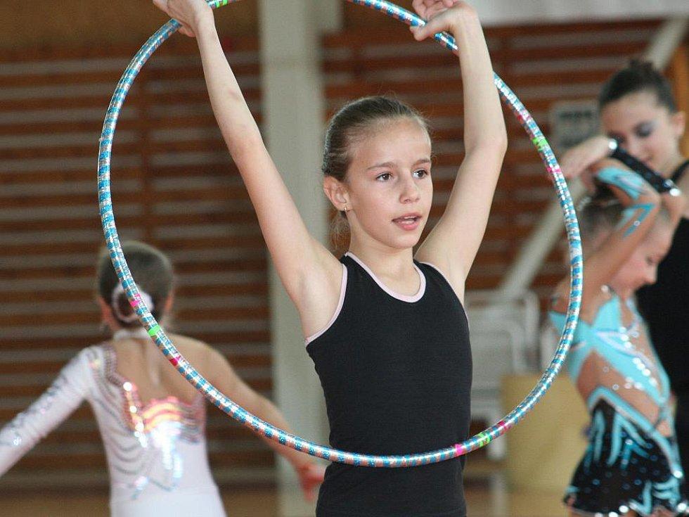 Moderní gymnastika - ilustrační foto.