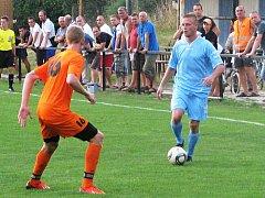 V okresním derby B skupiny I. A třídy remizovaly Šaratice s Bučovicemi 1:1.