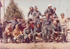 Dobrovolní hasiči z Malínek (minulost)