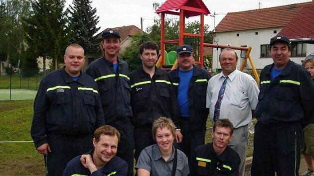 Dobrovolní hasiči z Malínek (současnost)