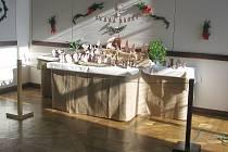 Vernisáž výstavy – podzim je v plném proudu a pomalu se blíží doba adventu, na kterou si Zámek Slavkov – Austerlitz přichystal výstavu keramických Betlému Marie Dočekalové.