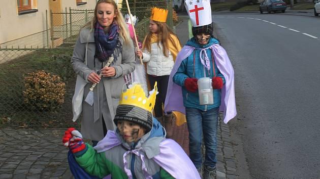 Tradiční tříkrálová sbírka se konala už po sedmnácté v Křenovicích. Zapojilo se skoro sedmdesát dětí.