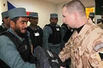 Provinční tým Lógar v Afghánistánu vycvičil čtyřicítku afghánských policistů.