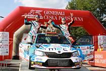 Snímky jsou z loňského ročníku Rally Vyškov.