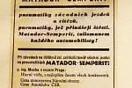 Historické automapy, dobový servis a třeba také Tatru 11 z roku 1926 můžou obdivovat návštěvníci výstavy Zámek s vůní benzínu v Muzeu Vyškovska.